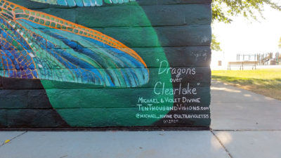 Dragons over Clearlake - Austin Park, Clearlake, CA